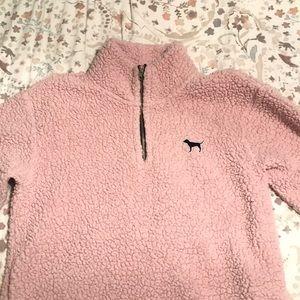 victoria secret fleece jacket
